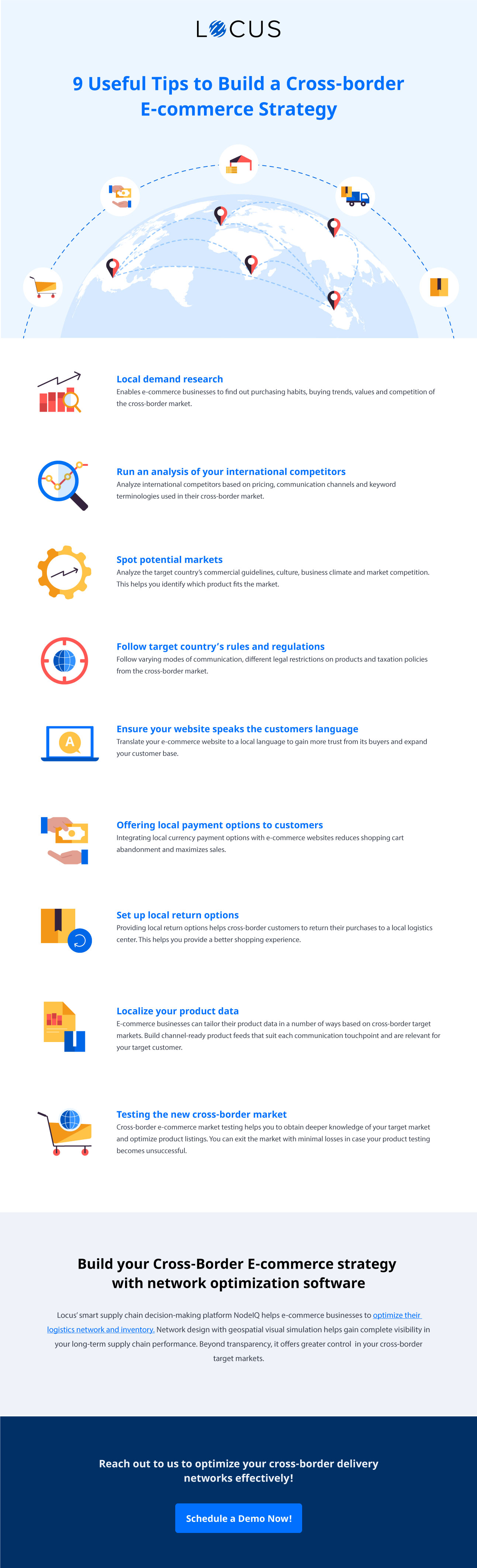 9 Useful Tips to Build a Cross-border E-commerce Strategy [infographics]