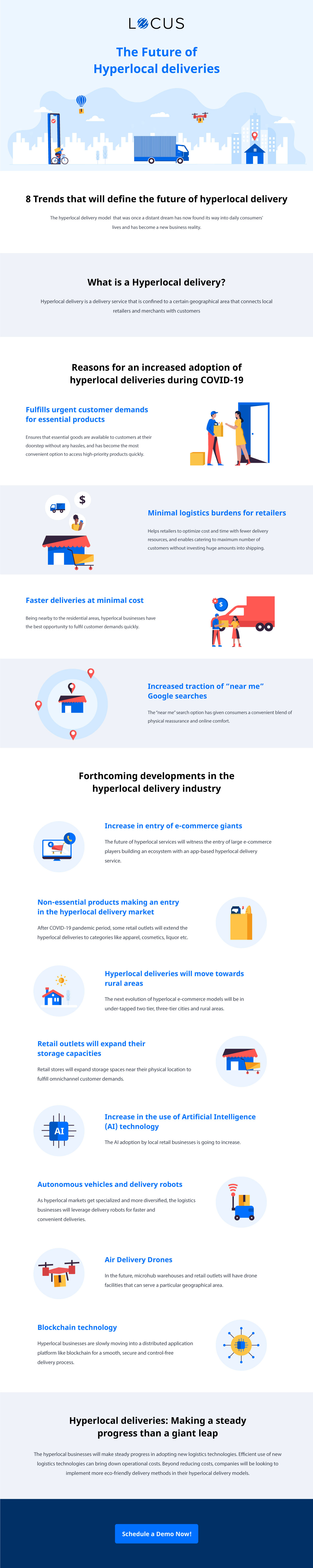 [Infographics] 8 Trends that will Define the Future of Hyperlocal Delivery
