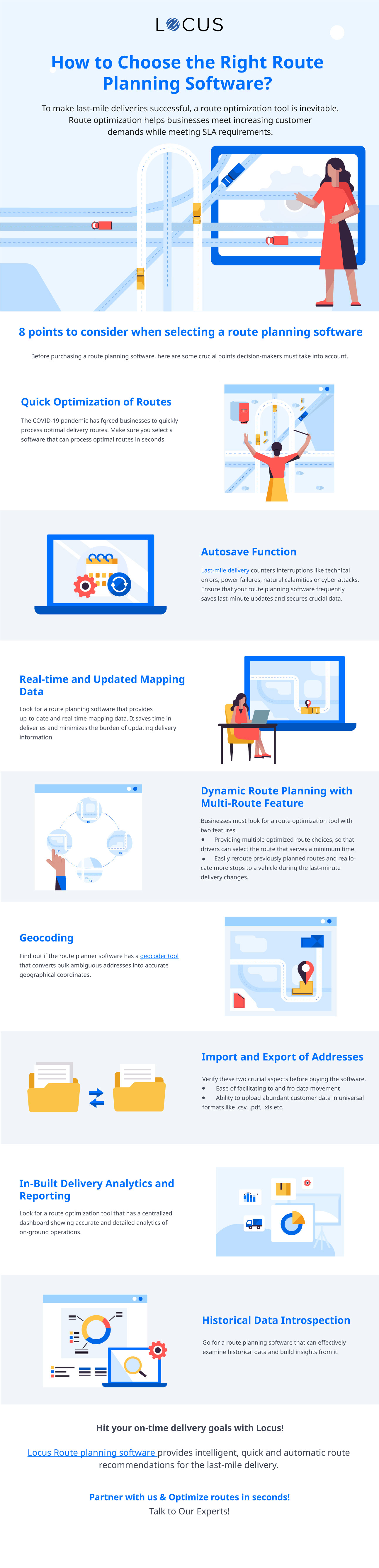 [Infographic] How to Choose the Right Route Planning Software?