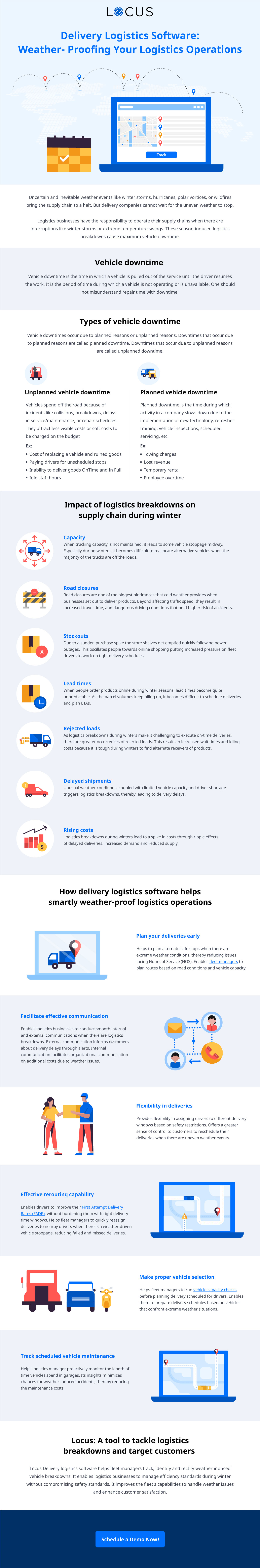[Infographics] Weather-Proofing Your Delivery Logistics Operations