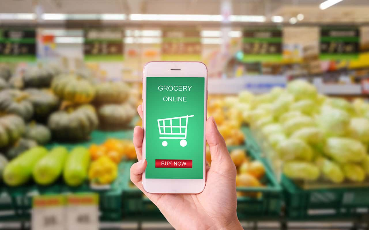 The Changing Logistics of Grocery Stores with Last Mile Delivery Route Optimization