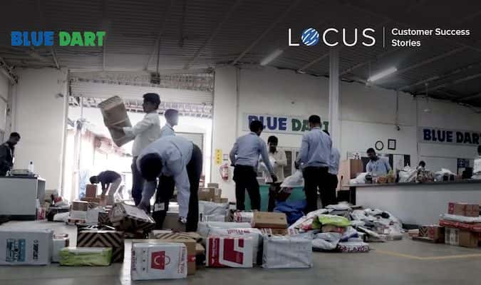 Locus Customer Success Story: Blue Dart