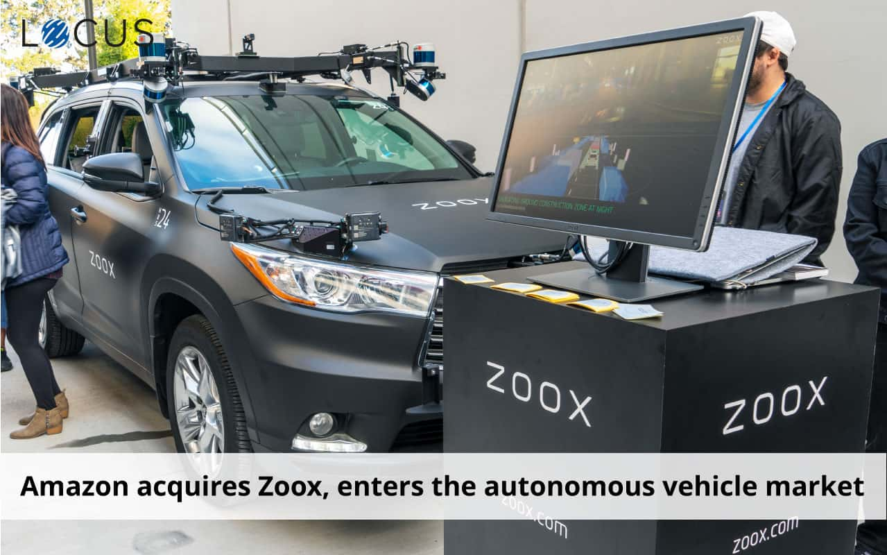 Amazon acquires Zoox, makes entry into the autonomous vehicles market