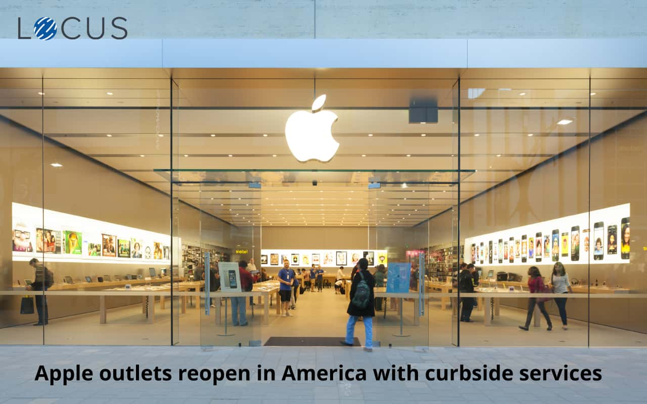 Apple to Reopen 100 More Stores in the US with Curbside Services