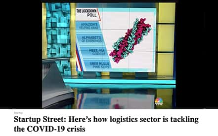 Startup Street: Here's how logistics sector is tackling the COVID-19 crisis