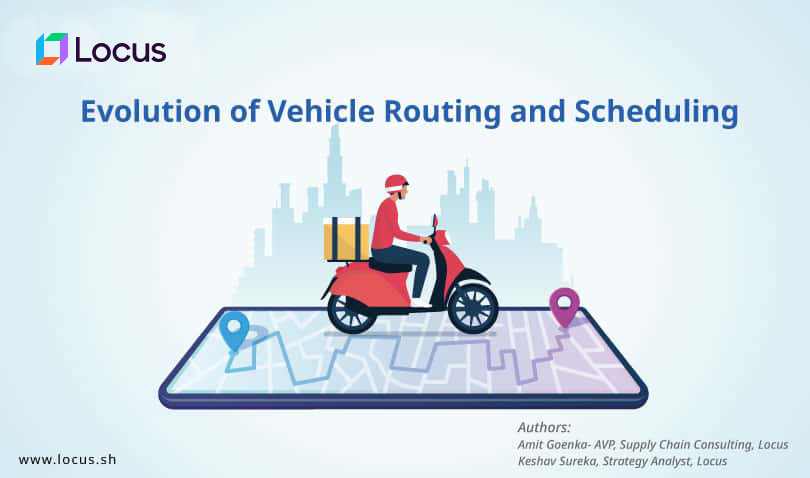 Evolution of Vehicle Routing and Scheduling