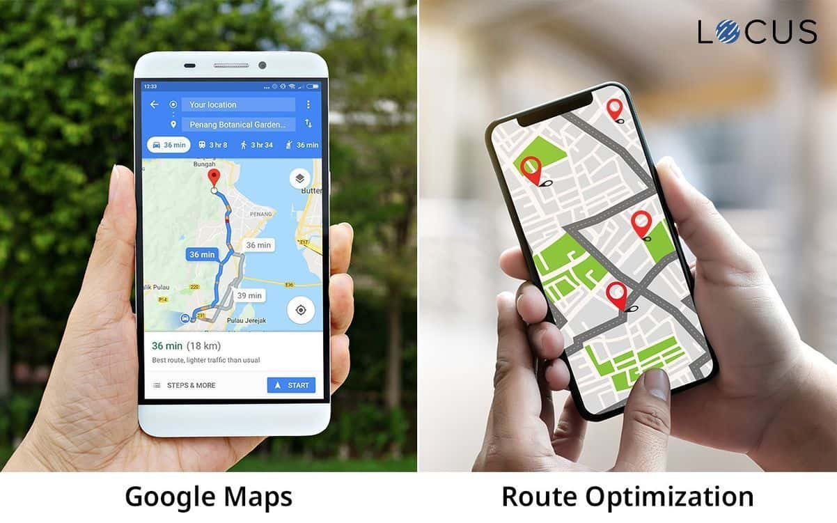 Specialized Route Optimization Engine VS Google Maps: What's the Difference?