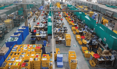 E-commerce shines with logistics push