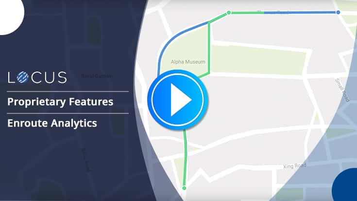 Track Riders To Increase SLA Adherence With Locus Enroute Analytics