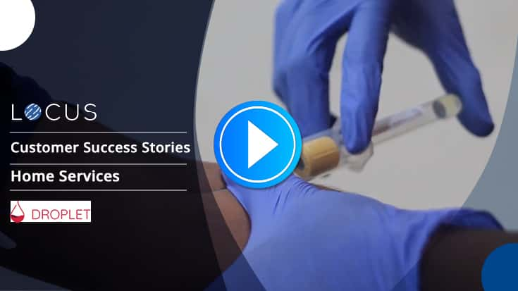 Healthcare labs reaching customer doorstep efficiently with Locus: Droplet Success Story