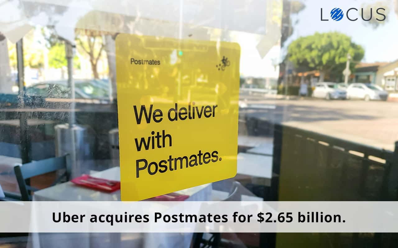 Uber Acquires Postmates' Food Delivery Business for a Whopping $2.65 Billion