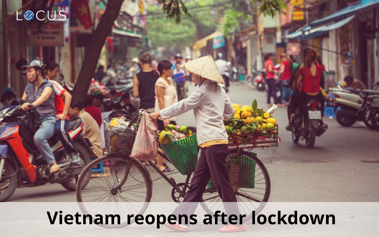 Vietnam reopens after three weeks of lockdown - Things crawling back to normalcy